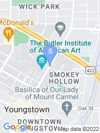 Youngstown State University map