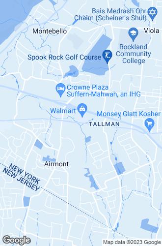 Map of Suffern