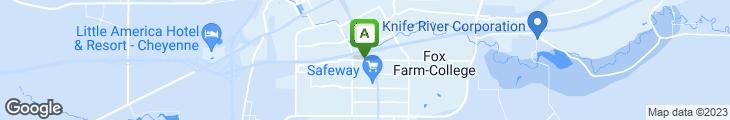 Map of Sandalwoods Restaurant