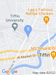 Tiffin University map