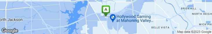 Map of Perkins Restaurant & Bakery