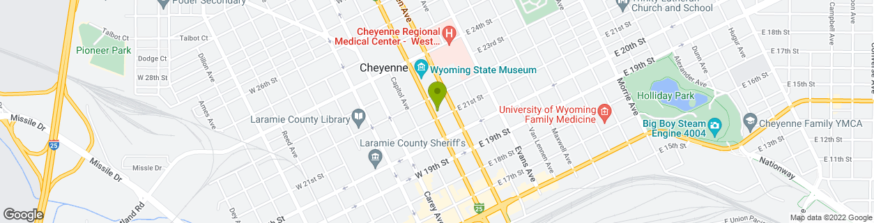 21st & Central Avenue-Cheyenne, WY