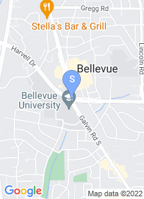 Bellevue University map