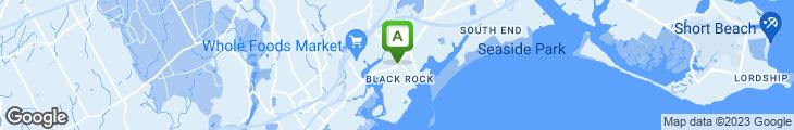 Map of Ash Creek Saloon-Black Rock