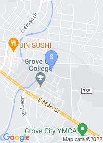 Grove City College map