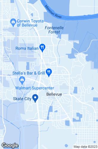 Map of Bellevue
