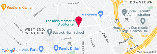 Map for Klein Memorial Auditorium
