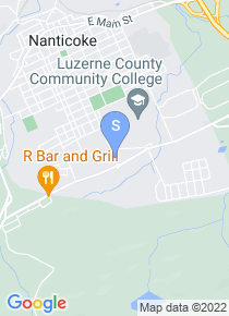 Luzerne County Community College map