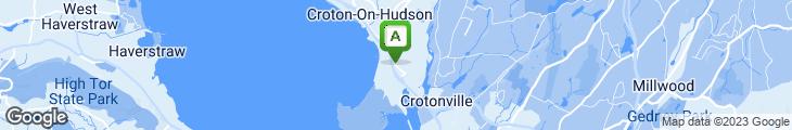 Map of Umami Cafe - Croton-On-Hudson