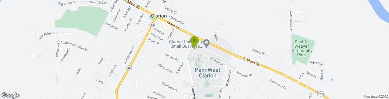 Clarion University of PA - Chandler
