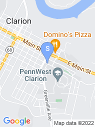 Clarion University map