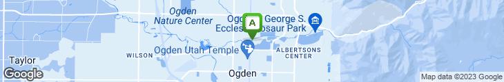Map of Prairie Schooner Steak House