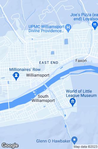 Map of Williamsport