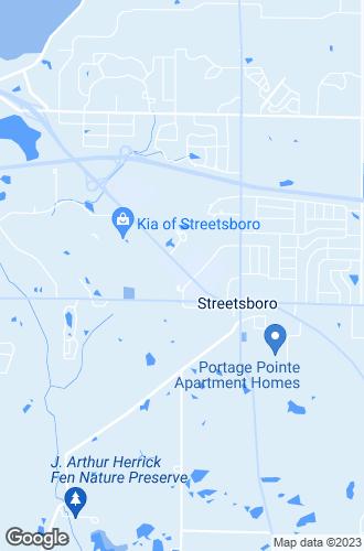 Map of Streetsboro