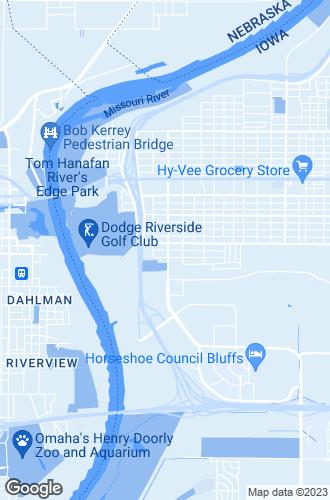 Map of Council Bluffs