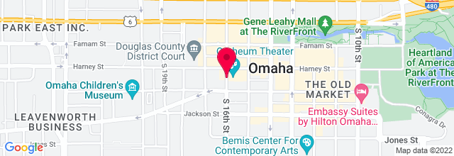 Map for Orpheum Theatre