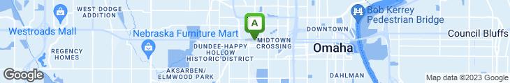 Map of Katie's