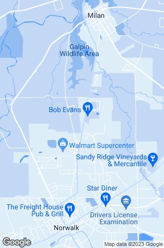 Map of Norwalk