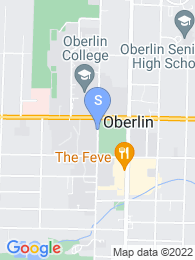 Oberlin College map