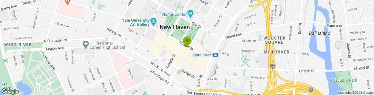 New Haven, Chapel Square
