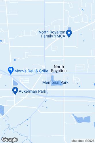 Map of North Royalton