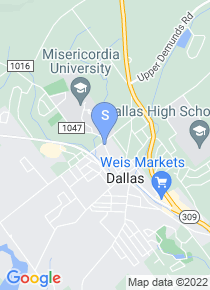 Misericordia University map