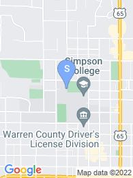 Simpson College map