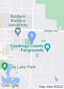 Baldwin Wallace College map