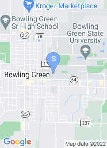 Bowling Green State University map