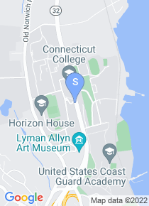Connecticut College map