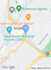 University of Scranton map