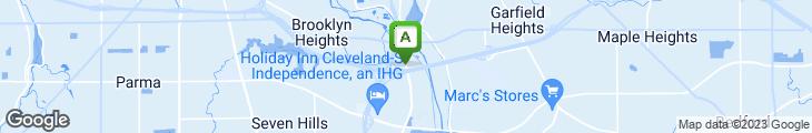 Map of Harry's Steak House