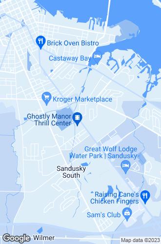 Map of Sandusky