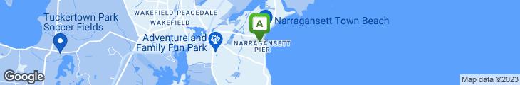 Map of Trio Rhode Island