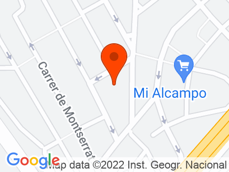 230126 - Cerca Av. Puigfred (entre Lloreda y Montigalà)