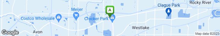 Map of Brendan O'Neill's