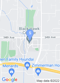 Black Hawk College map
