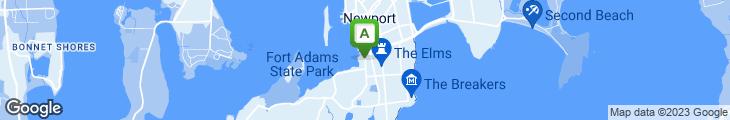 Map of Bouchard Restaurant