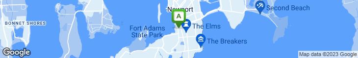 Map of O'Brien's Pub