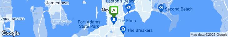 Map of Newport Creamery