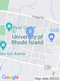 University of Rhode Island map