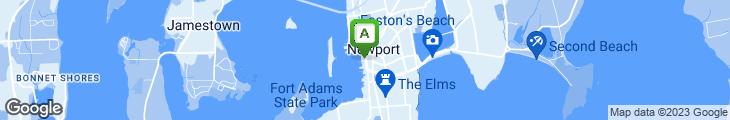 Map of The Landing Restaurant & Bar