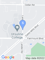 Ursuline College map