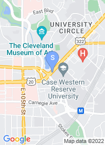 Case Western Reserve map
