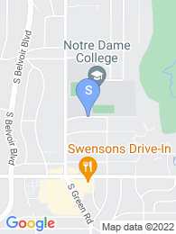 Notre Dame College map