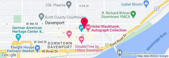 Map for RKO Orpheum Theater