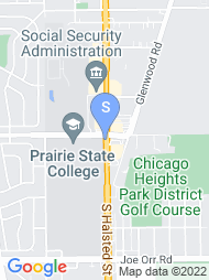 Prairie State College map