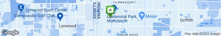 Map of Cafe Borgia