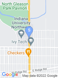 Indiana University Northwest map