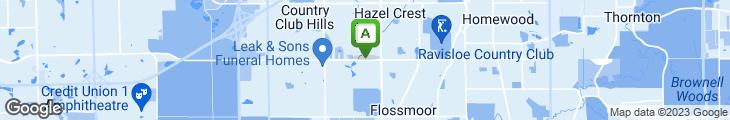 Map of Harold's Chicken Shack